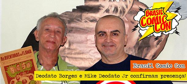 Deodato Borges e Mike Deodato Jr.
