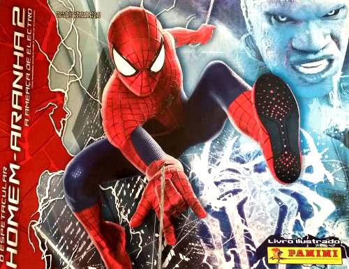 Livro Ilustrado O Espetacular Homem-Aranha 2 - A Ameaça de Electro