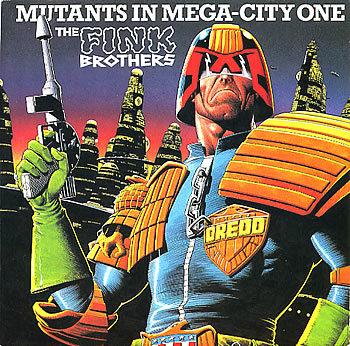 Mutants In Mega-City One
