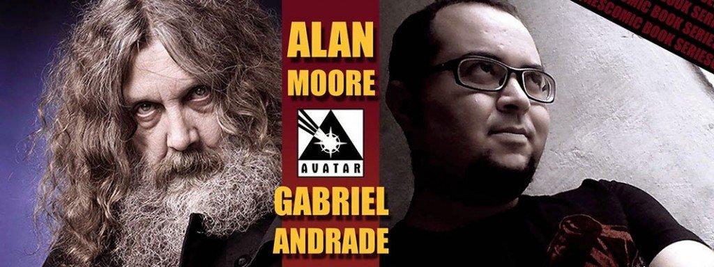Alan Moore e Gabriel Andrade