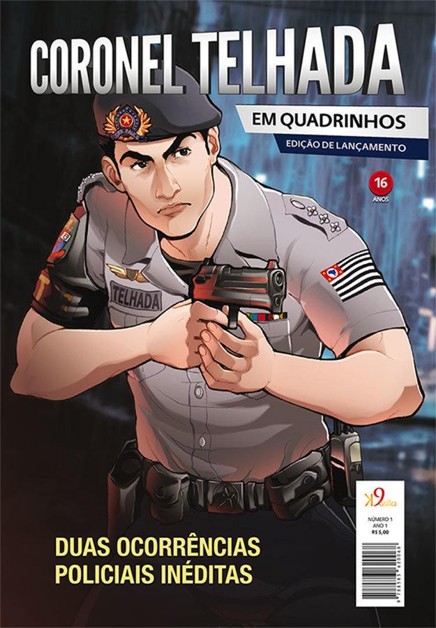Coronel Telhada em Quadrinhos