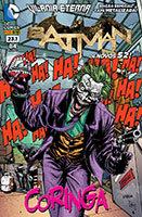 Batman # 23.1 - capa metalizada