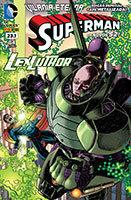 Superman # 23.1 - capa metalizada