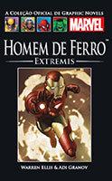 A Coleção Oficial de Graphic Novels Marvel # 21 - Homem de Ferro - Extremis