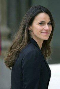 Ministra da Cultura, Aurélie Filippetti