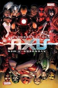 Axis, imagem promocional ilustrada por Jim Cheung
