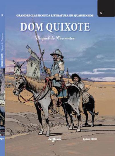 Outras Editoras: Quadrinhos, livros, etc. GrandesClassicosLiteraturaDomQuixote