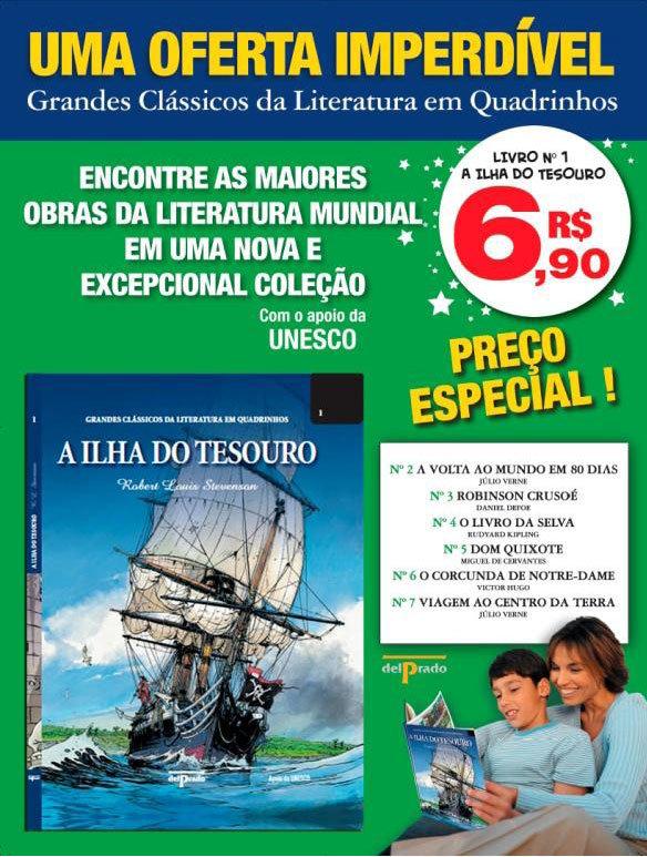 Outras Editoras: Quadrinhos, livros, etc. GrandesClassicosLiteraturaHQ01