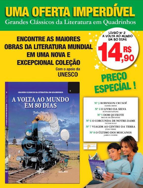 Outras Editoras: Quadrinhos, livros, etc. GrandesClassicosLiteraturaHQ02