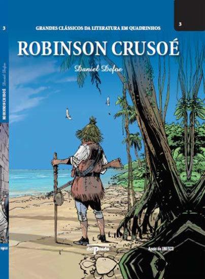 Outras Editoras: Quadrinhos, livros, etc. GrandesClassicosRobinsonCrusoe