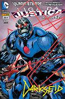 Liga da Justiça # 23.1 - capa metalizada