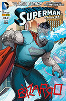 Superman # 23.2 - capa metalizada