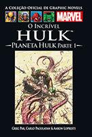 A Coleção Oficial de Graphic Novels Marvel # 23 - O Incrível Hulk – Planeta Hulk Parte I