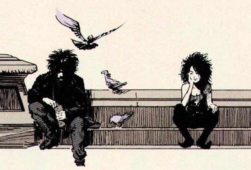"""""""O som de suas asas"""", com a primeira aparição da Morte"""