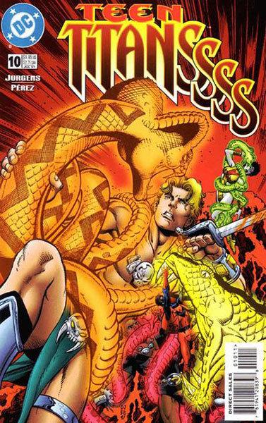 Teen Titans # 10 - Volume 2