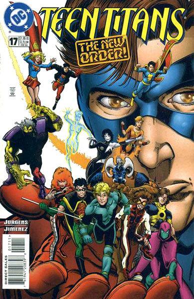 Teen Titans # 17 - Volume 2