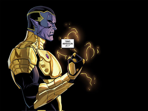 Thanos - A God up there Listening