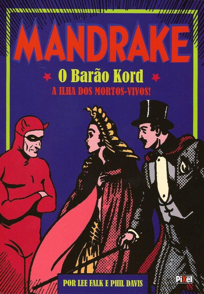 Outras Editoras: Quadrinhos, livros, etc. Mandrake_capa