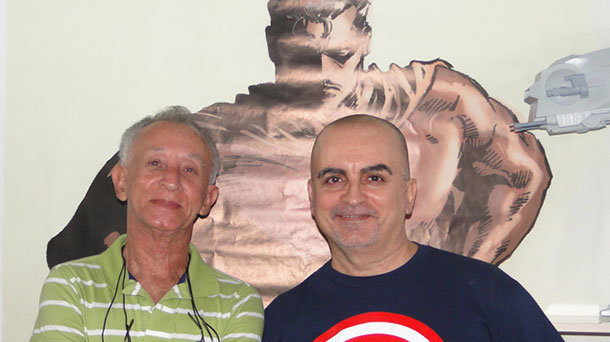 Deodato Borges e Mike Deodato Jr.