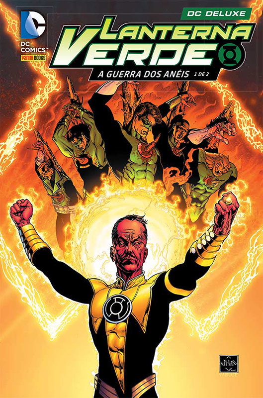 DC Deluxe Lanterna Verde - Volume 5 - A Guerra dos Anéis 1 de 2