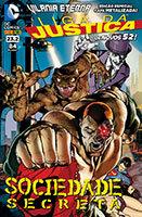 Liga da Justiça # 23.2 - capa metalizada