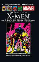 A Coleção Oficial de Graphic Novels Marvel # 25 - Os Fabulosos X-Men - A Saga da Fênix Negra