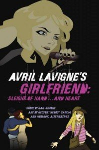 Avril Lavigne's girlfriend: sleight of hand... and heart