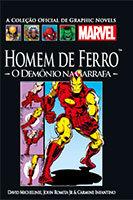 A Coleção Oficial de Graphic Novels Marvel # 28 - Homem de Ferro - O demônio na garrafa