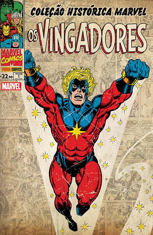 Coleção Histórica Marvel - Os Vingadores