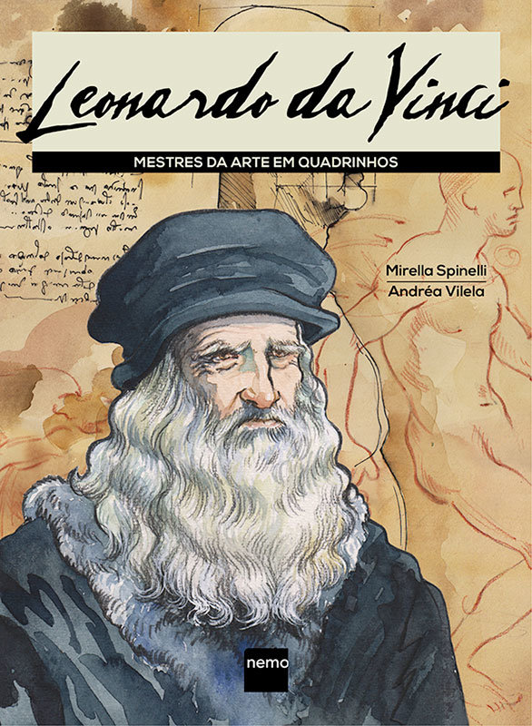 Mestres da Arte em Quadrinhos – Leonardo da Vinci