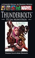 A Coleção Oficial de Graphic Novels Marvel # 30 - Thunderbolts - Fé em monstros