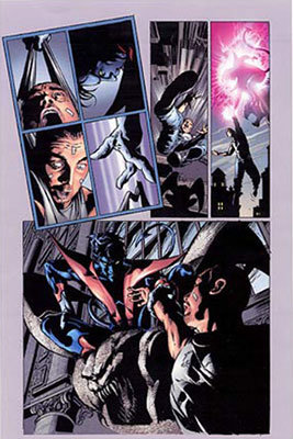 Arte do Noturno, por Mike Deodato Jr. para X-Men Unlimited