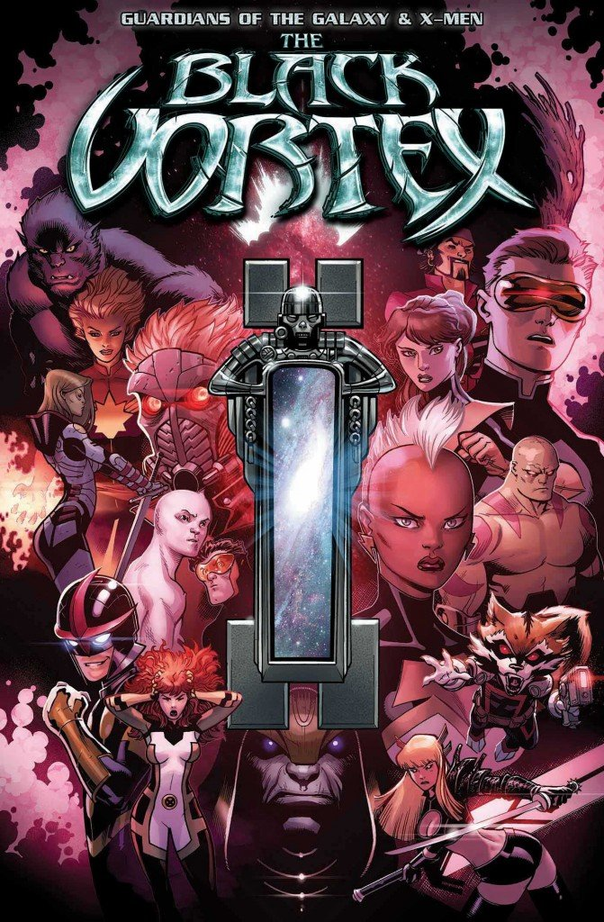 Guardians of the Galaxy & X-Men The Black Vortex Alpha # 1