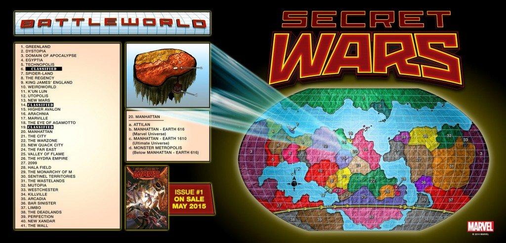 Mapa de Battleworld