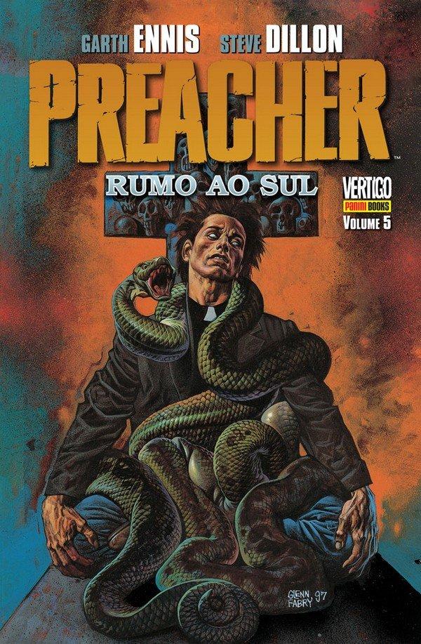 preacher_rumo_sul_capa