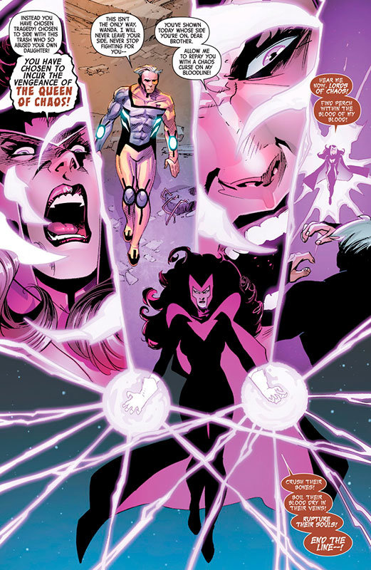 Avengers and X-Men - Axis # 7