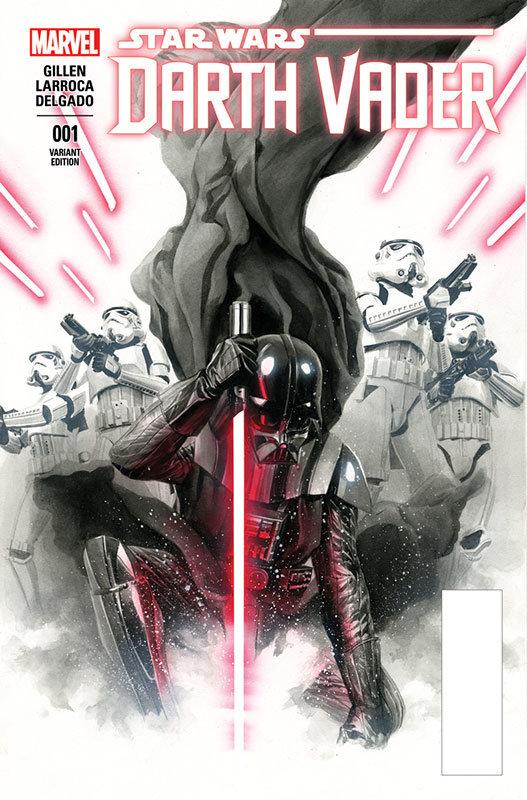 Darth Vader # 1, capa de Alex Ross