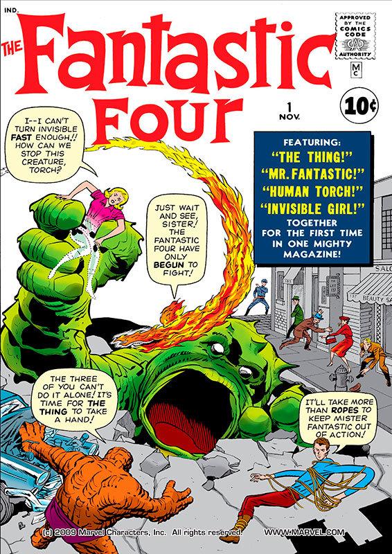 Fantastic Four # 1
