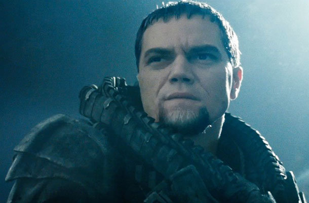 Michael Shannon como General Zod