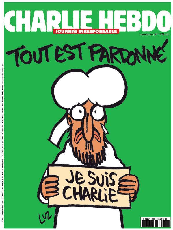 Charlie Hebdo especial de 14 de janeiro de 2015