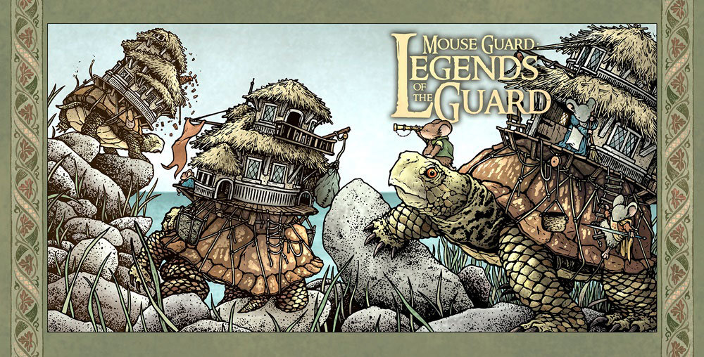 Mouse Guard: Legends of the Guard Vol. 3 # 1