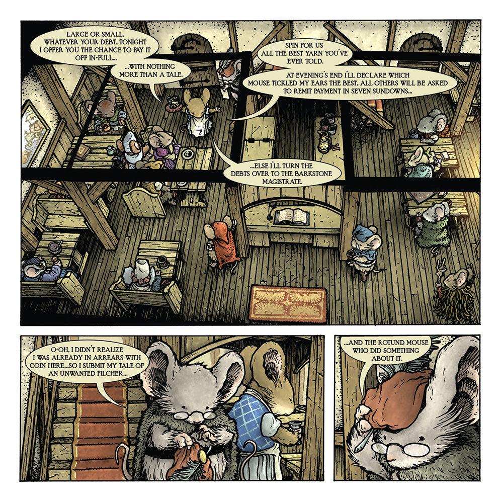 Página de Mouse Guard: Legends of the Guard Vol. 3 # 1