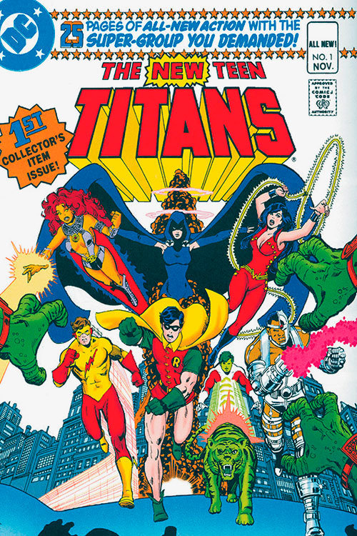 The New Teen Titans # 1