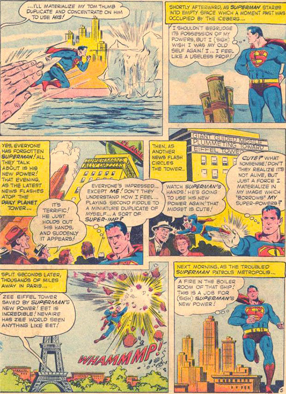 Página de Superman # 125 (1958)