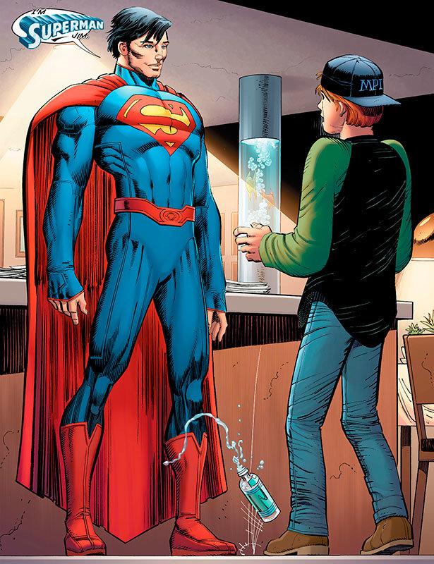 Página de Superman # 38