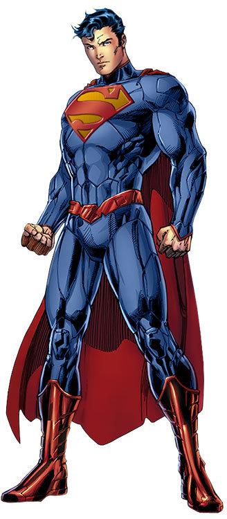 Superman com a roupa Novos 52