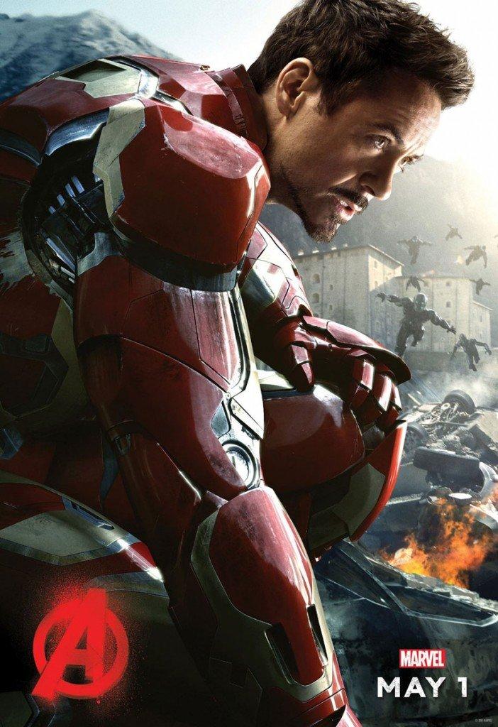 Homem de Ferro em Os Vingadores – A Era de Ultron