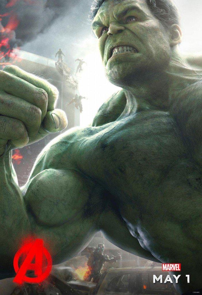 Hulk em Os Vingadores - A Era de Ultron