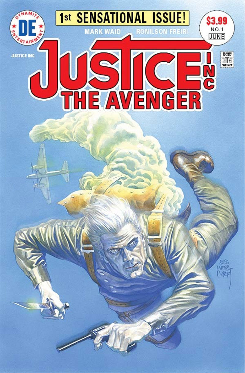 Justice, Inc - The Avenger