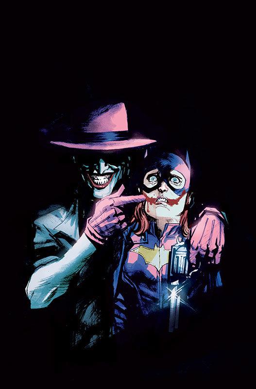 Capa cancelada de Rafael Albuquerque para Batgirl # 41